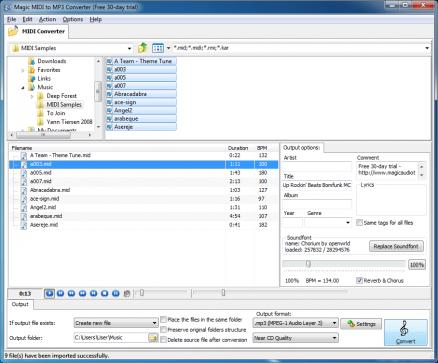 Magic MIDI to MP3 Converter 2.2.6