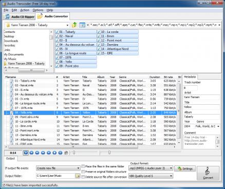 Audio Transcoder 2.9