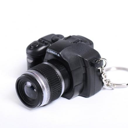 LED Keychain Camera Model with Sound