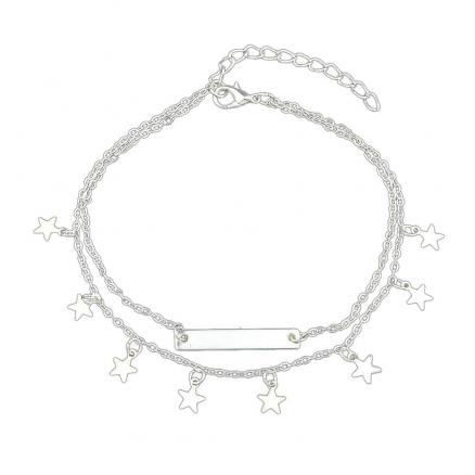 Summer Star Charm Anklets Beach Barefoot Sandals