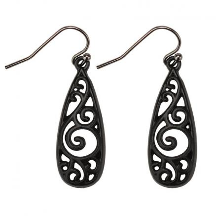 High - Grade National Wind Hollow Decorative Pattern Delicate Earrings