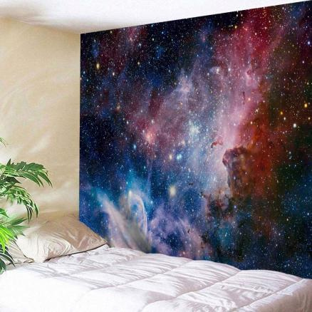 Galaxy Print Wall Art Hanging Throw Tapestry