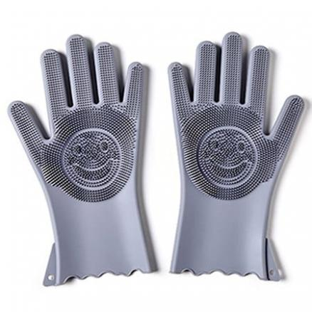 Multi-functional Silicone Decontamination Non-stick Oil Cleaning Gloves