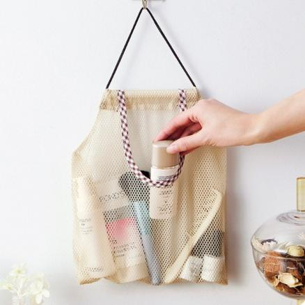 Household Vegetable Storage Mesh Bag Fruit Wall Hanging Organizer