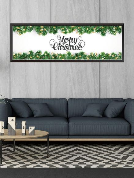Merry Christmas Pattern Removable Wall Sticker