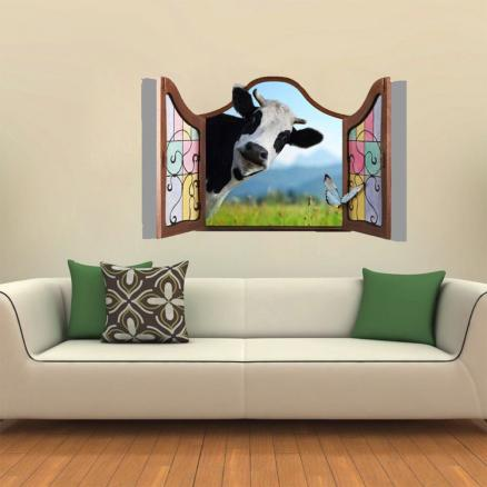 Creative Animal Decoration 3D Wall Sticker