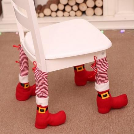 Christmas Decor Table Chair Protective Cover