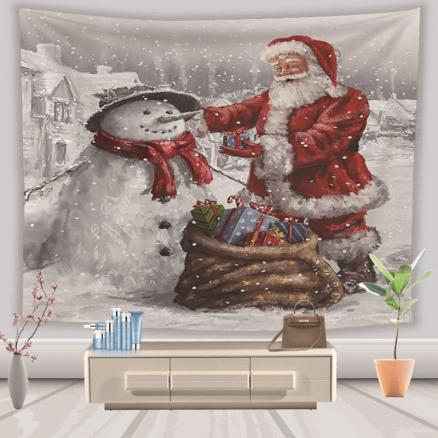 Christmas Tapestry Hanging Cloth Background Decoration 130cm x 150cm