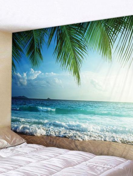 Sea View Printed Wall Hanging Tapestry Art