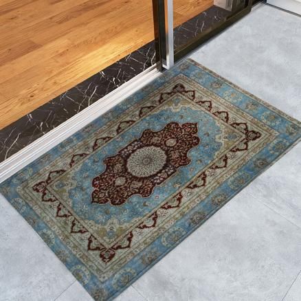 Vintage Persian Floor Door Mat For Bathroom