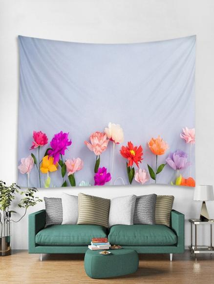 Beautiful Flower Print Wall Hanging Tapestry