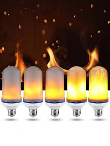 LED Night Light Flame Lamp