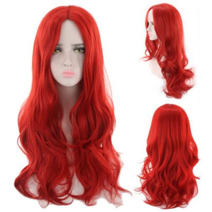 Color Curly Hair Gradation Hairstyle Cos Wig