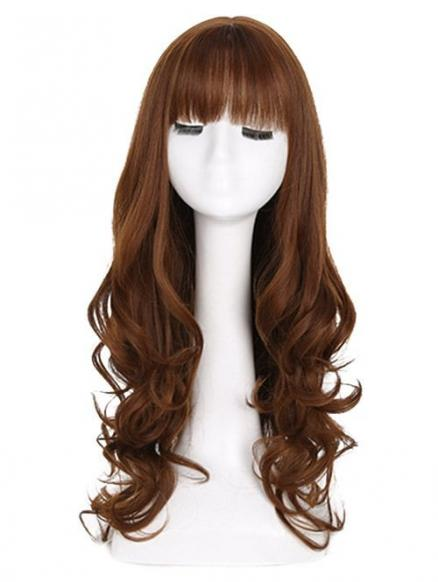 Full Bang Loose Curly Long Synthetic Wig