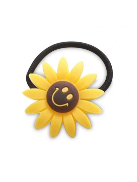 College Style Smile Sunflower Hairband