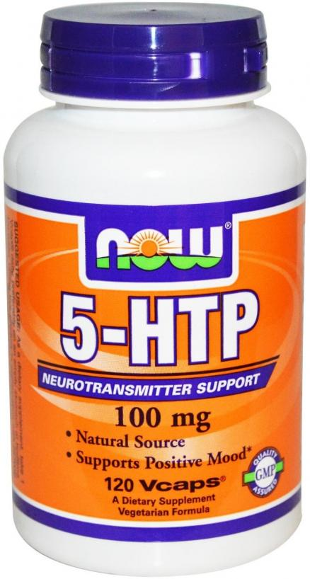 Now Foods 5-HTP 200 mg 120 caps