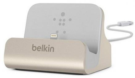 Belkin Dock Charge and Sync Mixit Lightning Gold (F8J045btGLD)