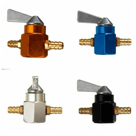Motorcycle Motorbike  In-line Petrol On-off Fuel Tap Switch 6MM