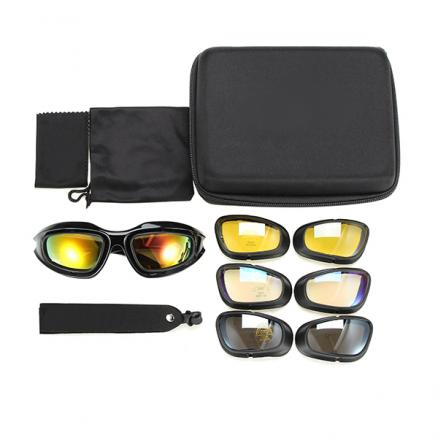 Military Tactical Goggles Motorcycle Riding Glasses Sunglasses