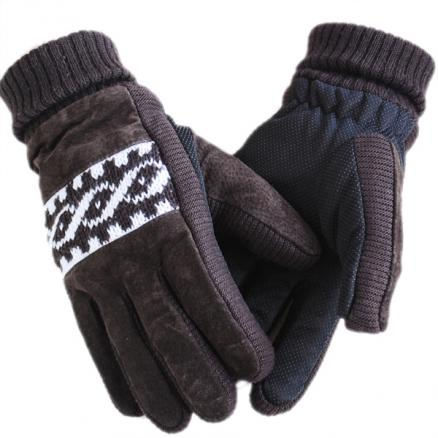 Motorcycle Winter Leather Outdoor Cycling Non-mainstream Gloves