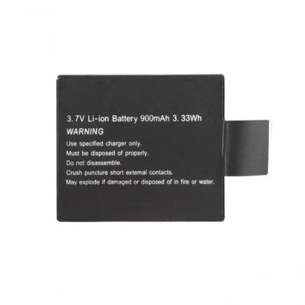 Back Up Battery Replacement Li-Ion Battery 900mAh for EKEN H9 H9R H8 H8R Sports Action Camera