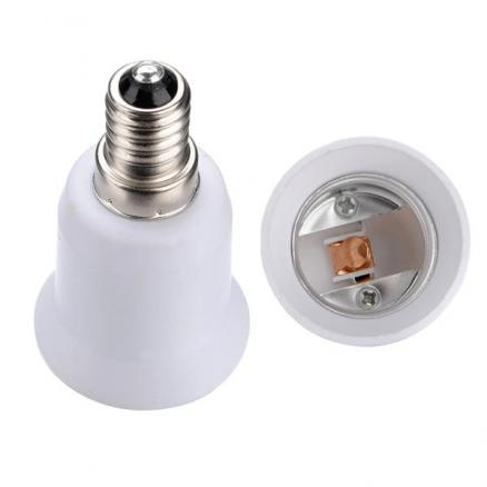 E14 to E27 Light Lamp Bulb Adapter Converter NEW