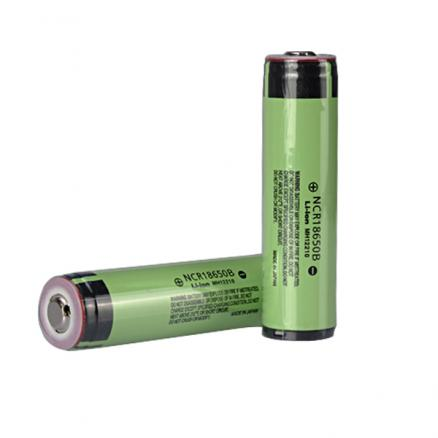2PCS NCR 18650B 3.7V 3400mAh Protected Rechargeable Lithium Battery