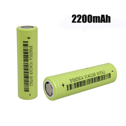 1pcs 3.7v 2200mAh 18650 lithium-ion Rechargeable Battery