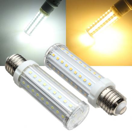 E27 LED Bulb 9W White Warm White 60 SMD 2835 Corn Light Lamp 110-240V