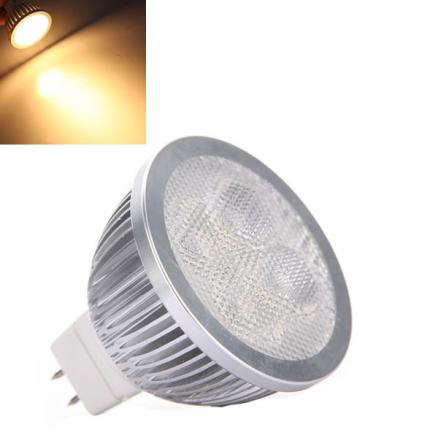 MR16 4W 360LM Warm White LED Light Lamp Bulb 12V