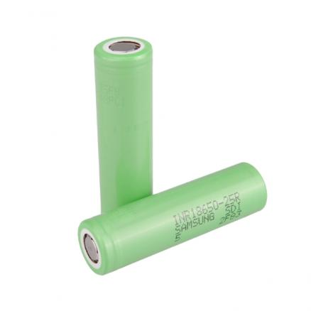 2PCS INR18650-25R 2500mAh 3.6v 20A Rechargeable Li-ion Battery