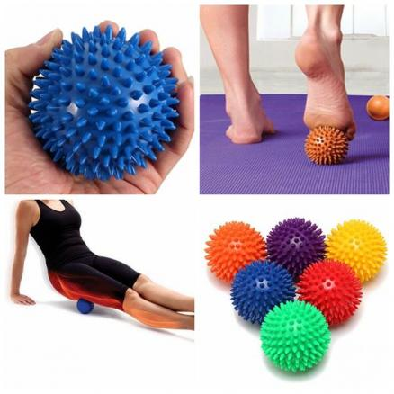 Spiky Acupoint Trigger Point Stimulating Stress Relief  Yoga Massage Ball