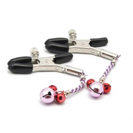 Papilla Female Dual Bell Clip Novelty Sex Products