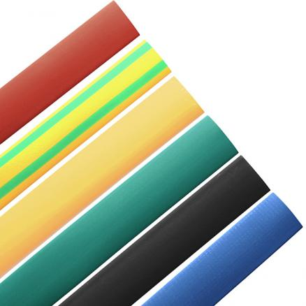 1M 10.0MM 7 Color 2:1 Polyolefin Heat Shrink Tubing Tube Sleeving Wrap