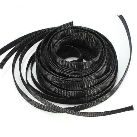 12mm Braided Expandable Sheathing Auto Wire Cable Gland Sleeving