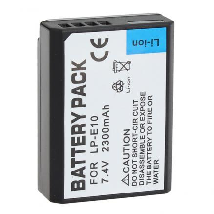 CAN.LP-E10 Rechargeable 2300mAh 7.4V Li-ion Protected Battery for Canon