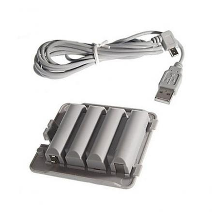 Battery Pack & Charging Cable Bundle For Wii Fit Balance Board