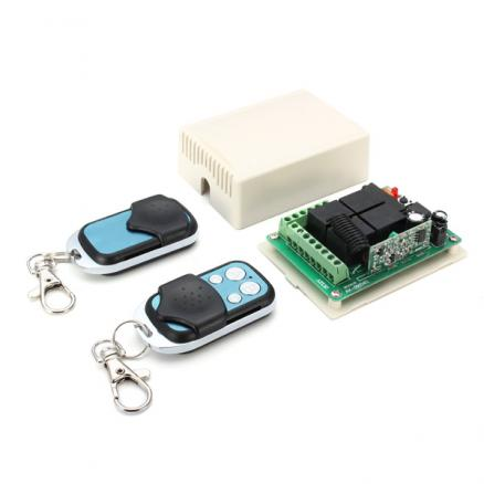 12V 10A 315MHz 4CH Learning Code Switch Wireless Remote Control