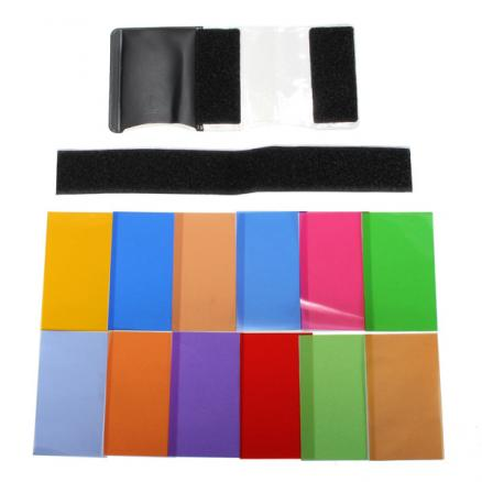 Flash Universal Speedlite Color Filter Kit For Canon Nikon And Others
