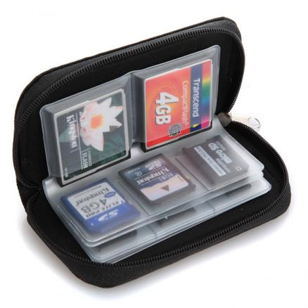 Case Cover Pouch Case for 22 memory cards micro SD card XD