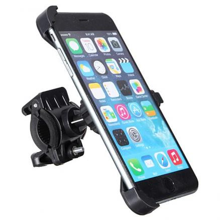 360 Rotating Bicycle Motorcycle Mount Holder For iPhone 6/6S Plus 5.5Inch