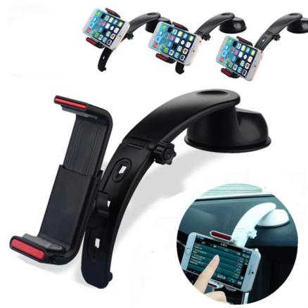 360 Angle Car Dashboard Mount Holder Stand Cradle For iPhone