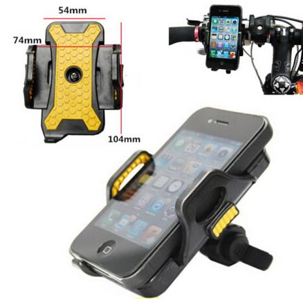 Universal Bike Bicycle Handlebar Clip Holder For iPhone Smartphone