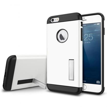 Armor PC TPU Back Kickstand Case Protector For iPhone 6 Plus