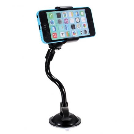 Car Windshield Suction Cup Holder Mount For iPhone Smartphones