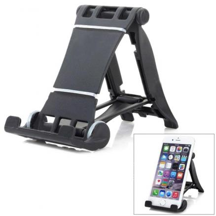 Universal 90 Rotation ABS Desktop Holder For iPhone iPad Cellphone