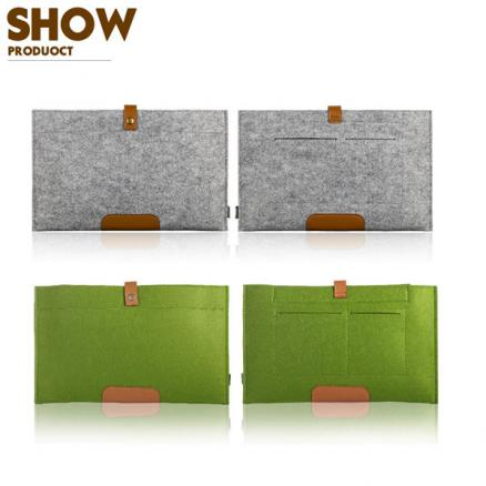 Wool Felt Laptop Notebook Sleeve Cover Bag Case For MacBook Air Pro Retina 12Inch