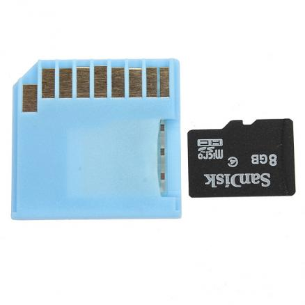Micro SD TF to MiniDrive SD Adapter For MacBook Air Pro