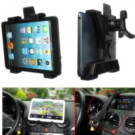 Universal Car Air Vent Mount Holder Stand For iPad 3/4 Air Tablet