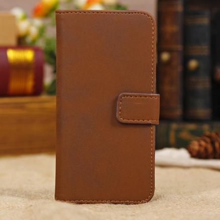 Archaize Classical Flip Stand Wallet Credit Leather Case For iPhone 5C